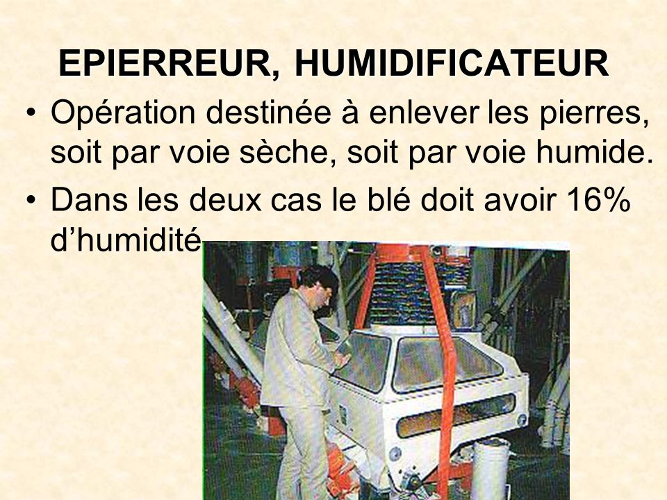 EPIERREUR, HUMIDIFICATEUR