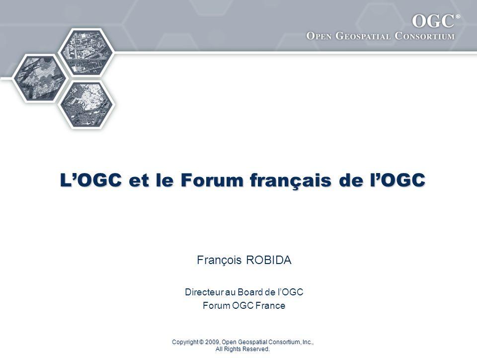 L'OGC et le Forum français de l'OGC
