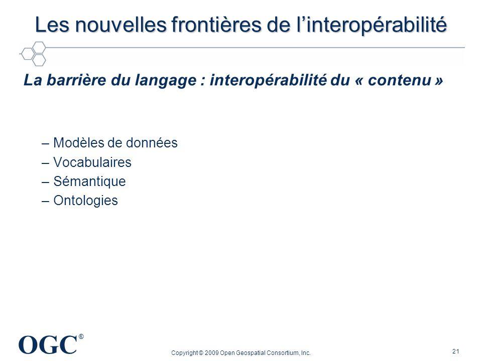 Les nouvelles frontières de l'interopérabilité