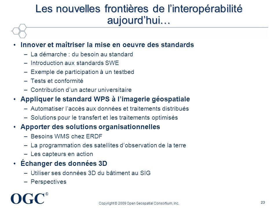 Les nouvelles frontières de l'interopérabilité aujourd'hui…