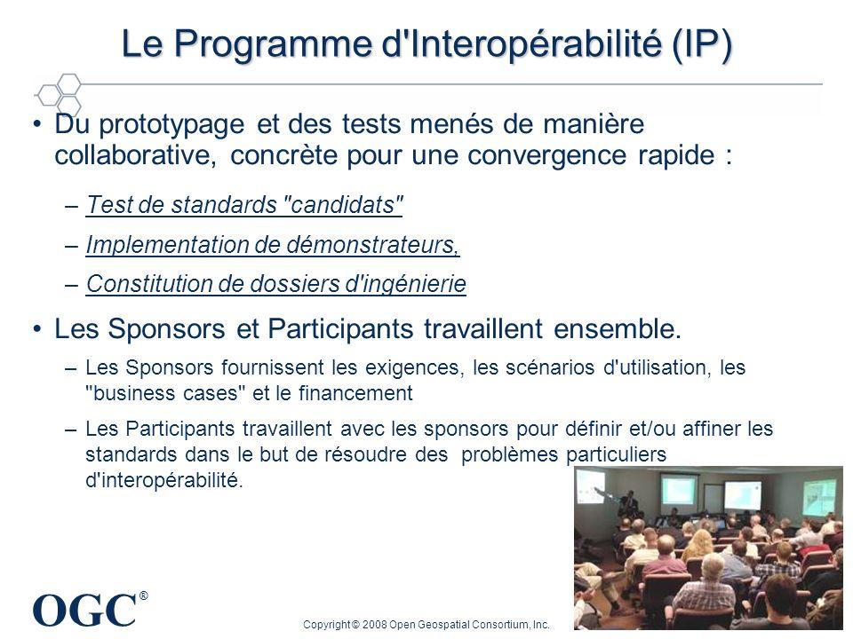 Le Programme d Interopérabilité (IP)