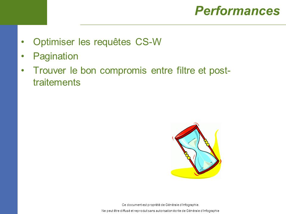 Performances Optimiser les requêtes CS-W Pagination