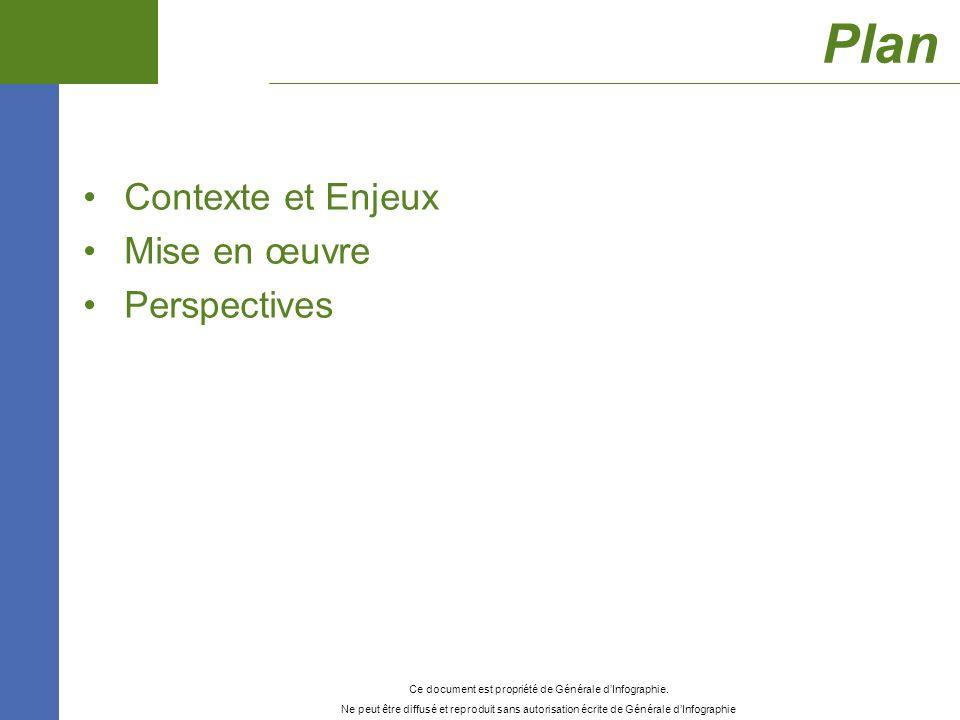 Plan Contexte et Enjeux Mise en œuvre Perspectives