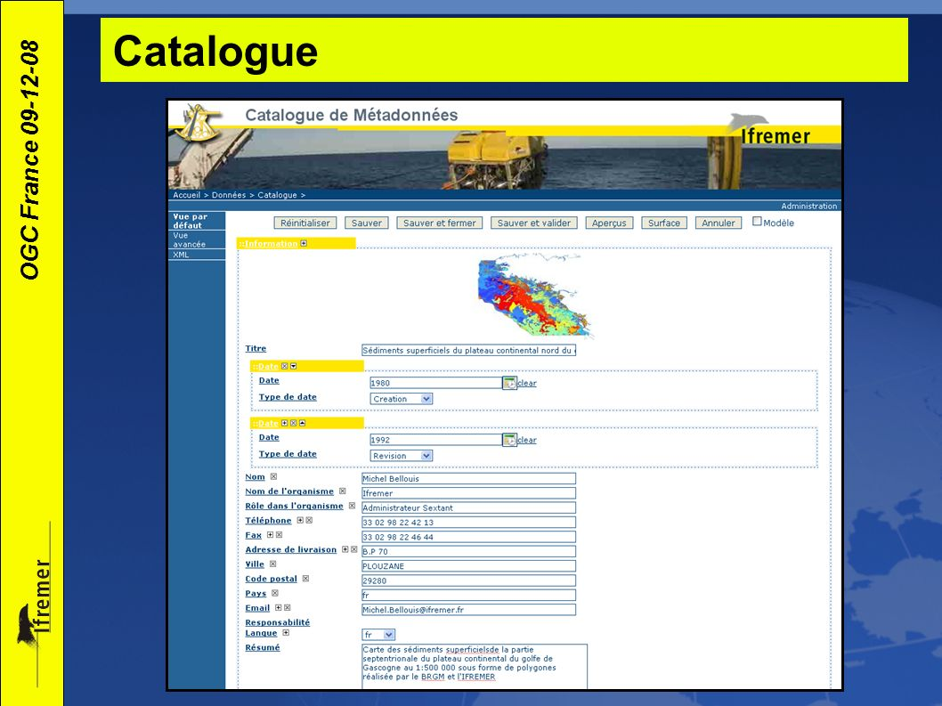 Catalogue‏
