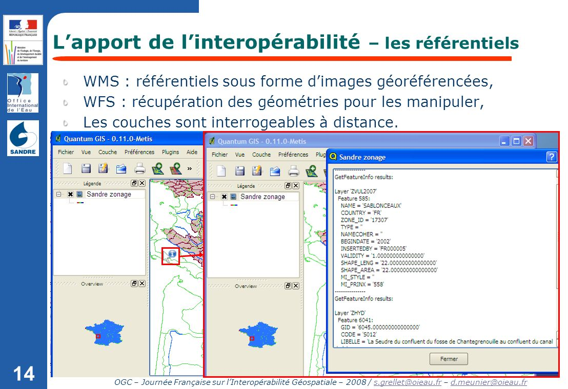 L'apport de l'interopérabilité – les référentiels