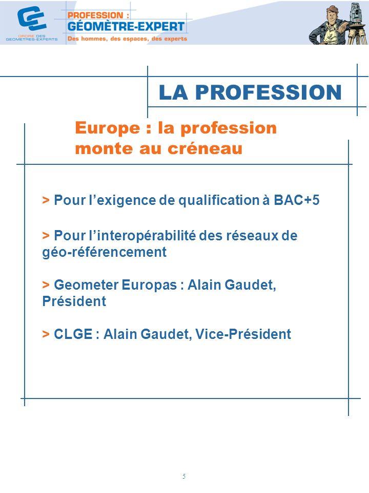 LA PROFESSION Europe : la profession monte au créneau