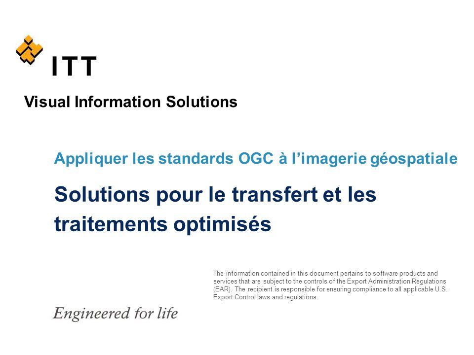 Solutions pour le transfert et les traitements optimisés