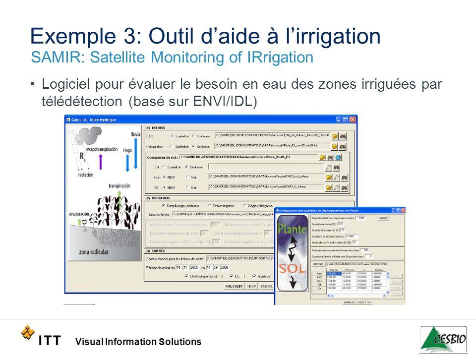 Exemple 3: Outil d'aide à l'irrigation