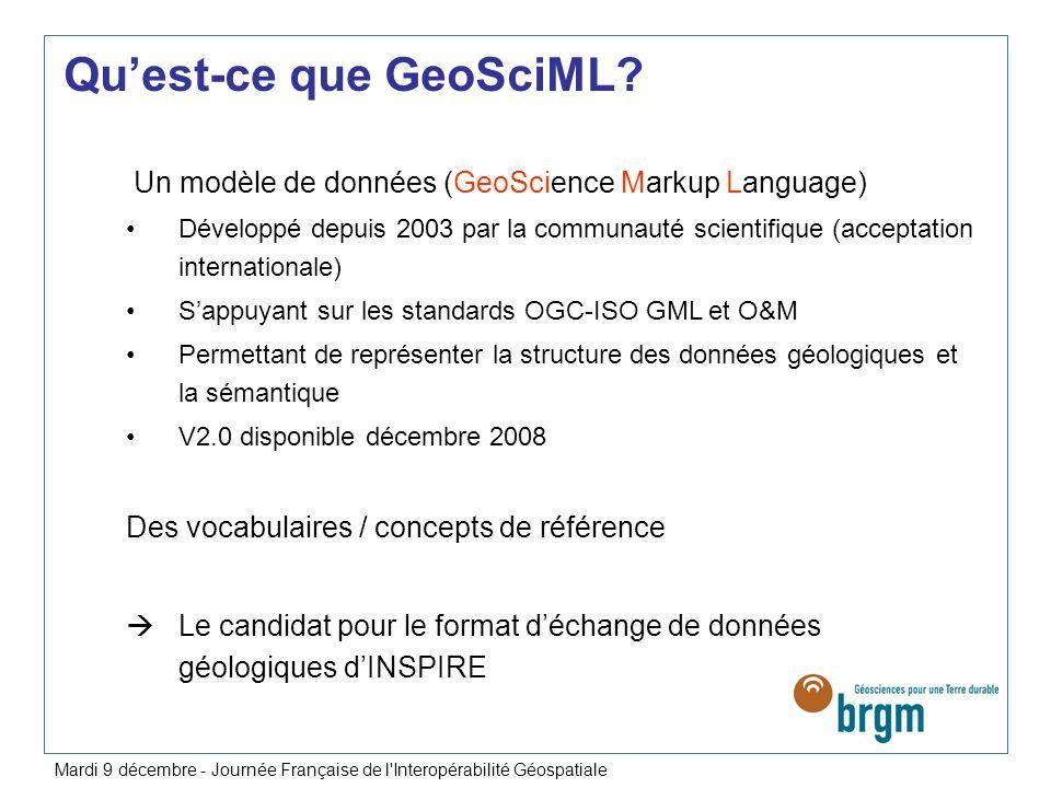 Qu'est-ce que GeoSciML