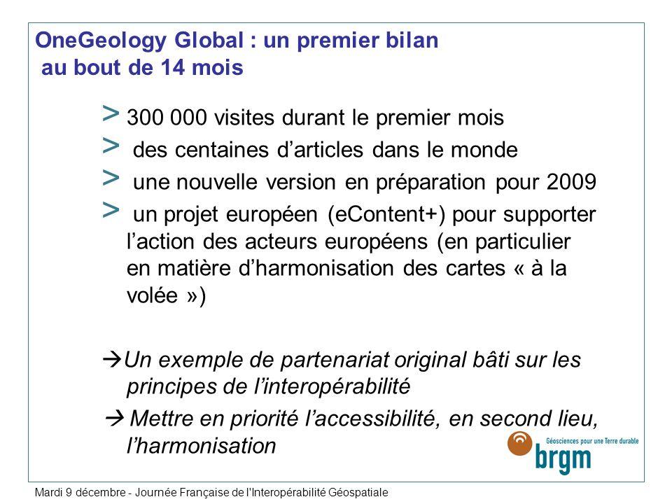 OneGeology Global : un premier bilan au bout de 14 mois