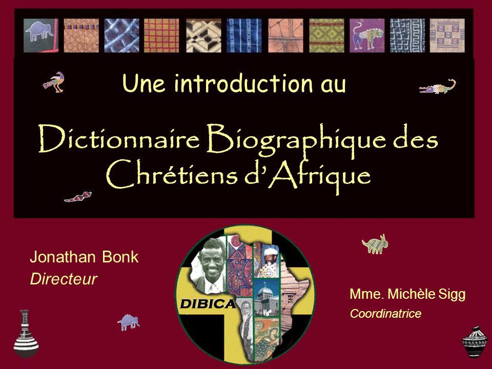 Dictionnaire Biographique des Chrétiens d'Afrique