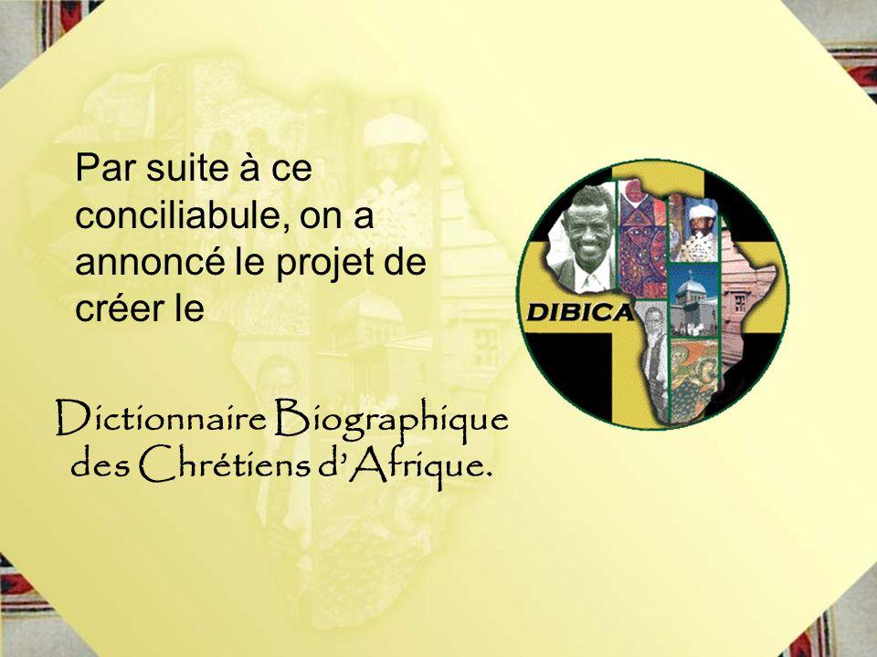Dictionnaire Biographique des Chrétiens d'Afrique.