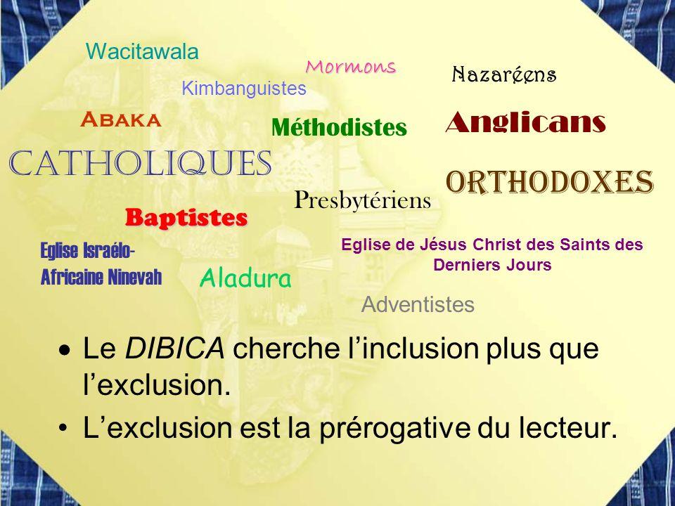 Eglise de Jésus Christ des Saints des Derniers Jours