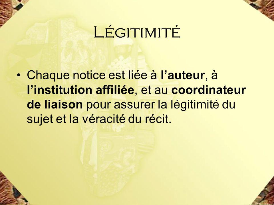 Légitimité