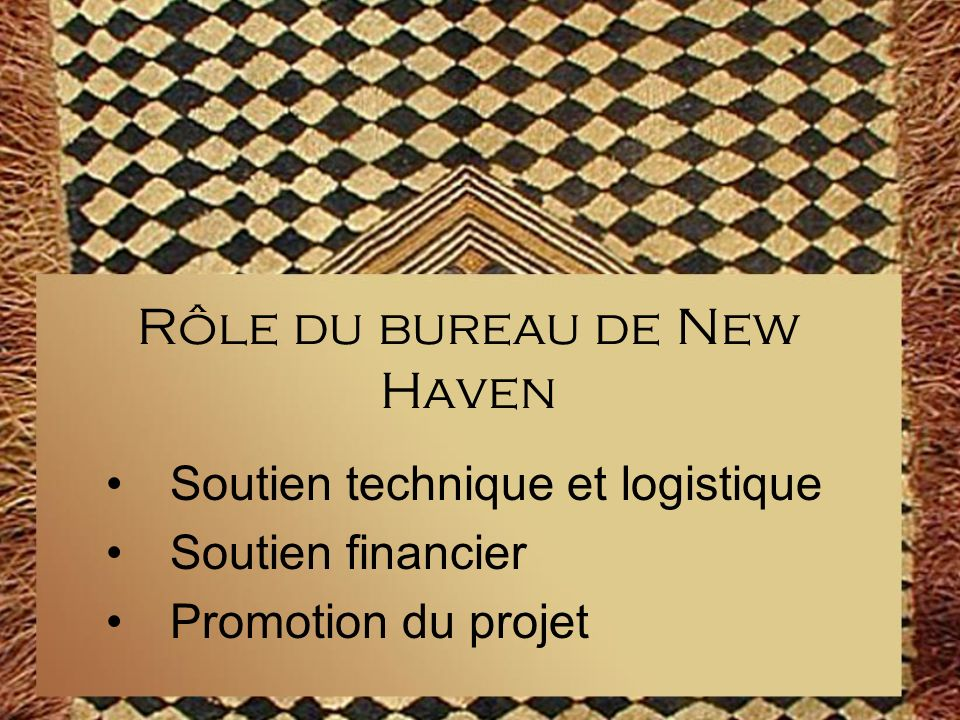 Rôle du bureau de New Haven