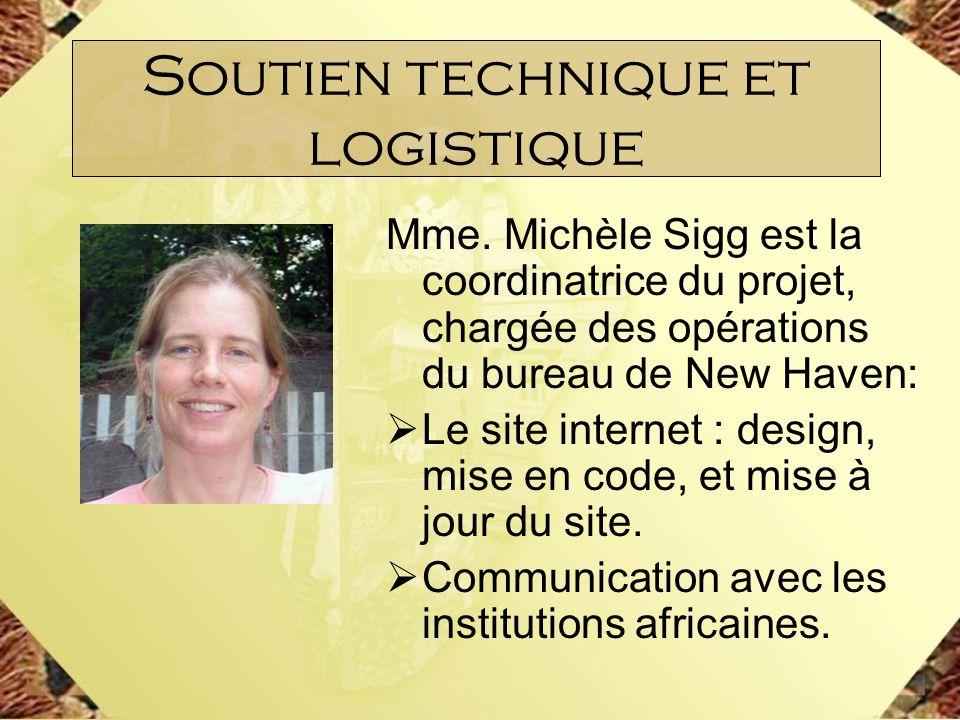 Soutien technique et logistique