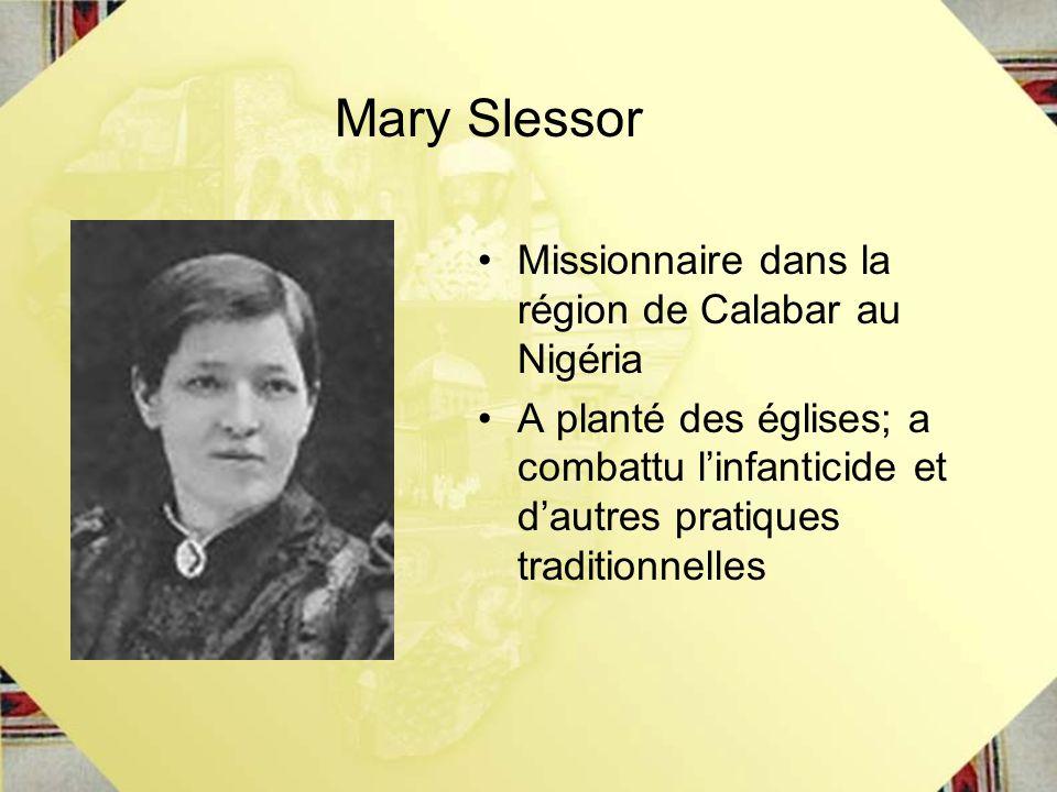 Mary Slessor Missionnaire dans la région de Calabar au Nigéria