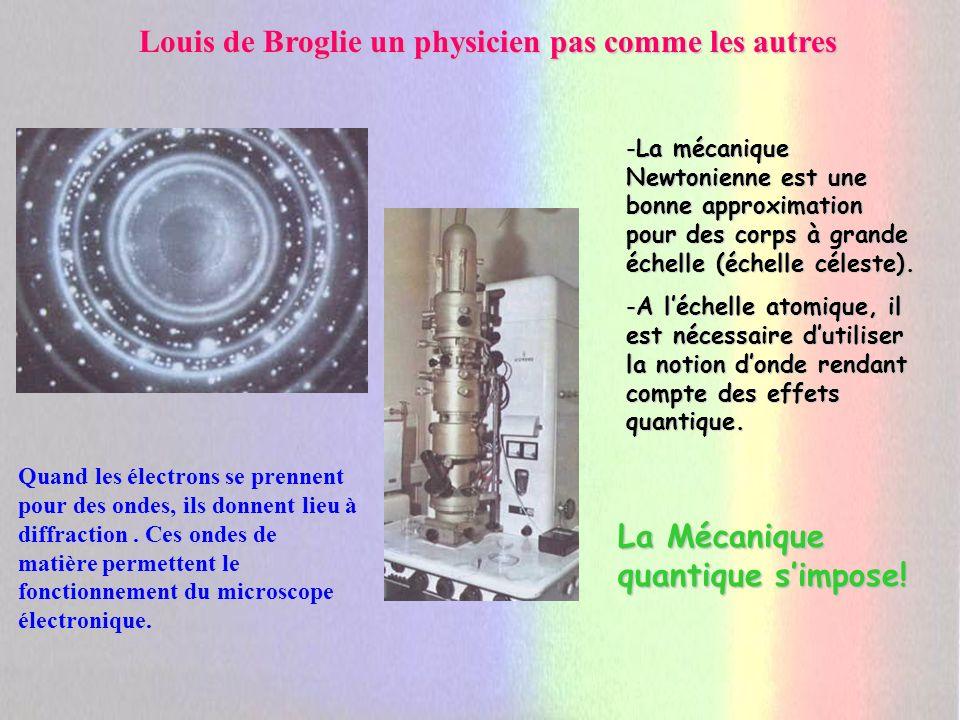 Louis de Broglie un physicien pas comme les autres