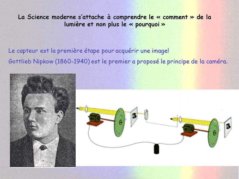 La Science moderne s'attache à comprendre le « comment » de la lumière et non plus le « pourquoi »