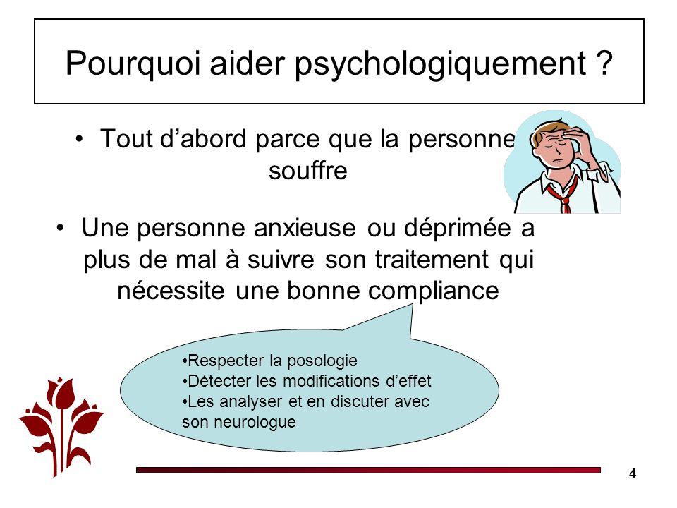 Pourquoi aider psychologiquement