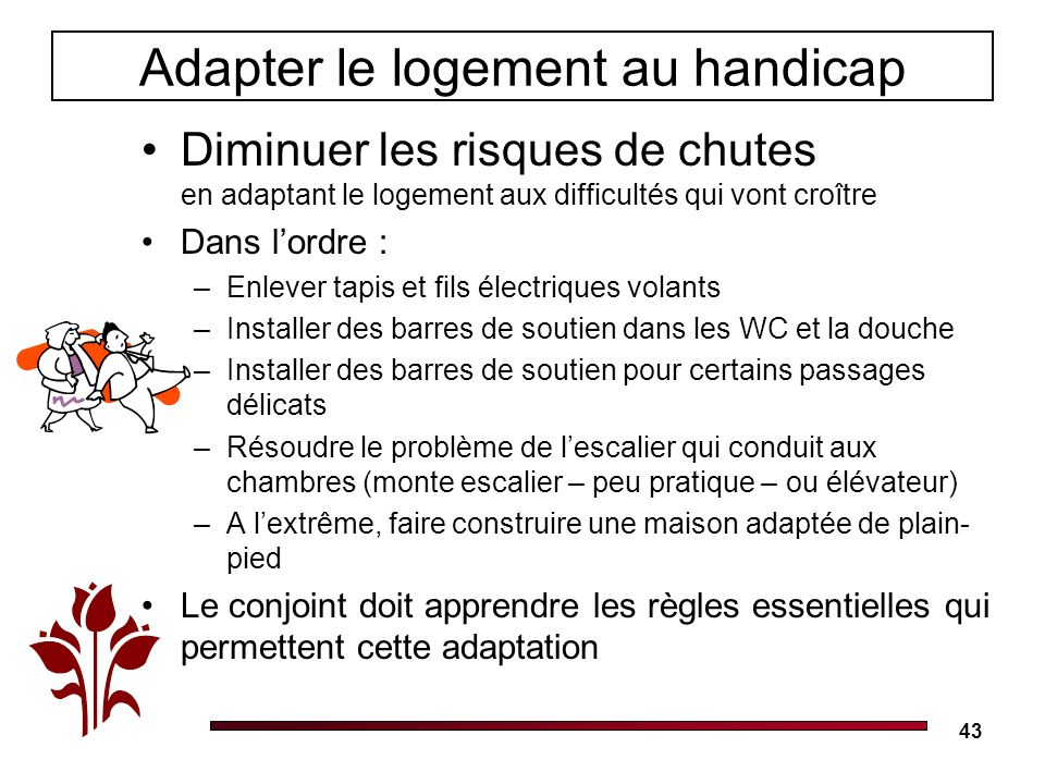 Adapter le logement au handicap