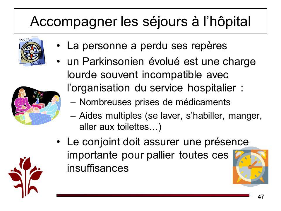 Accompagner les séjours à l'hôpital