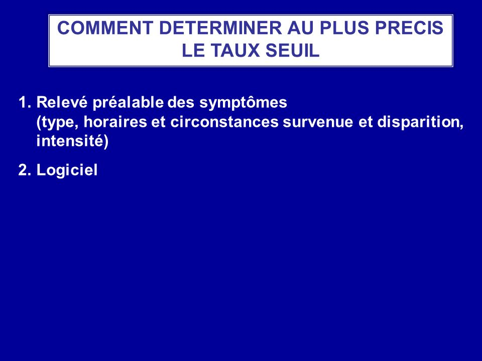 COMMENT DETERMINER AU PLUS PRECIS