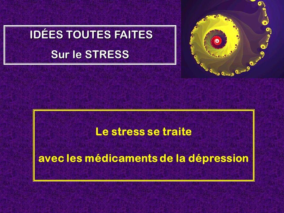 avec les médicaments de la dépression