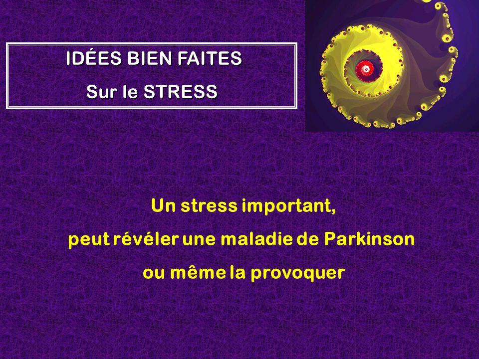 peut révéler une maladie de Parkinson