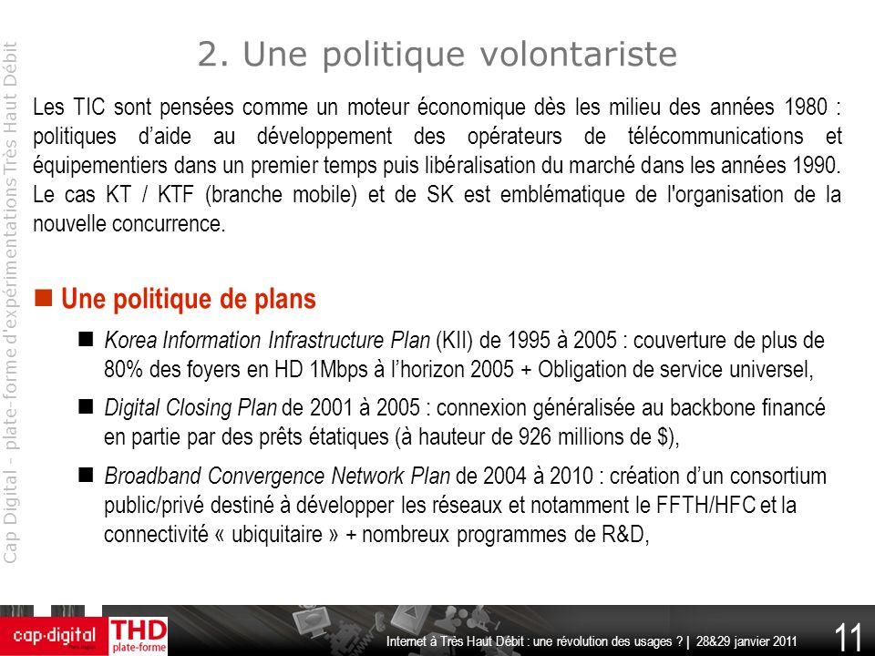 2. Une politique volontariste