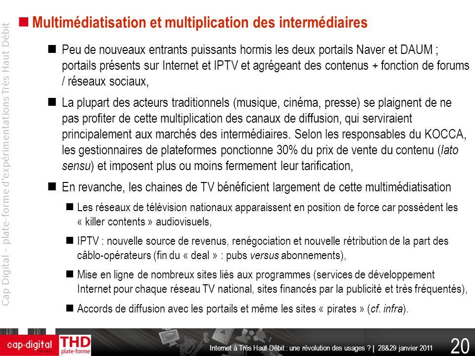 Multimédiatisation et multiplication des intermédiaires
