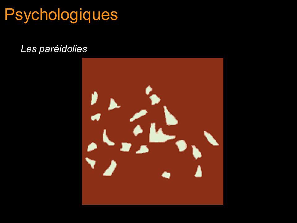 Psychologiques Les paréidolies
