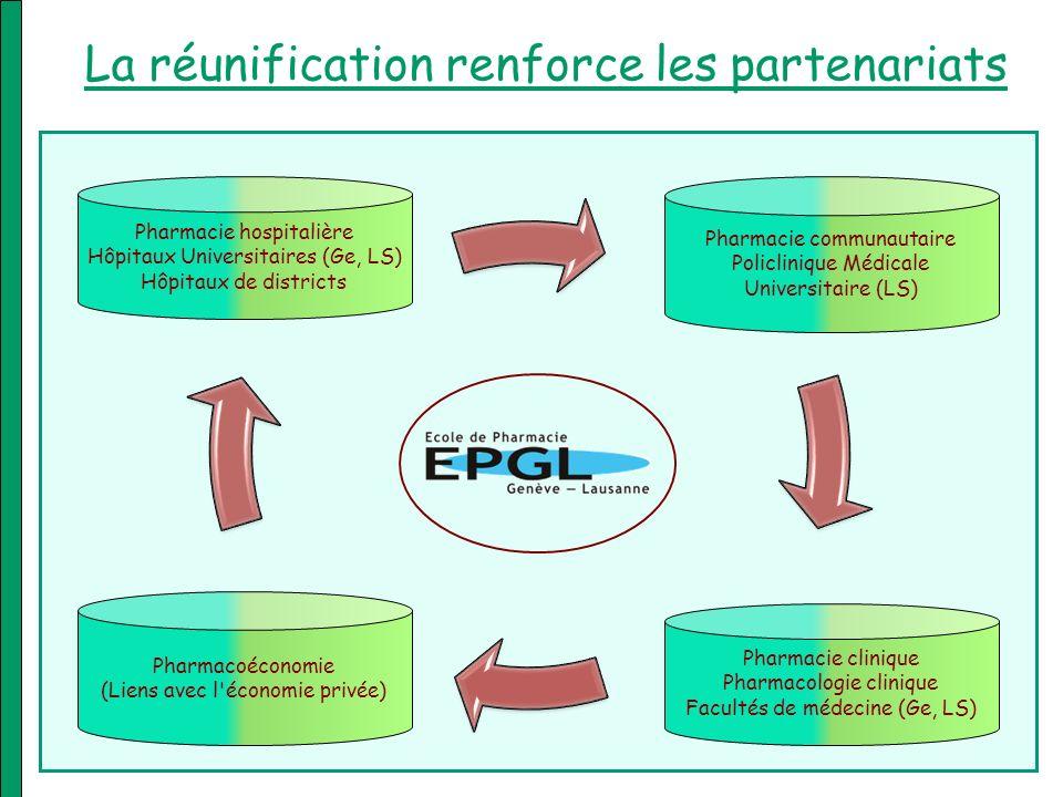 La réunification renforce les partenariats