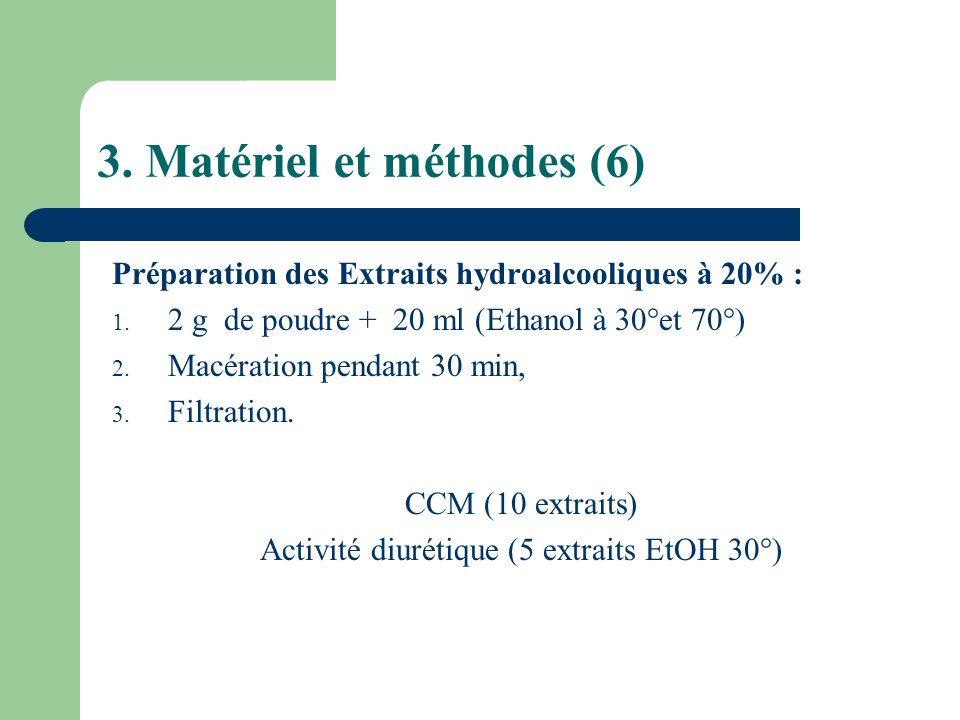3. Matériel et méthodes (6)