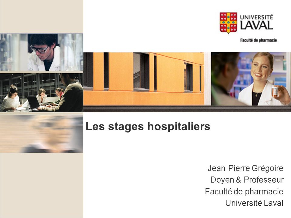 Les stages hospitaliers
