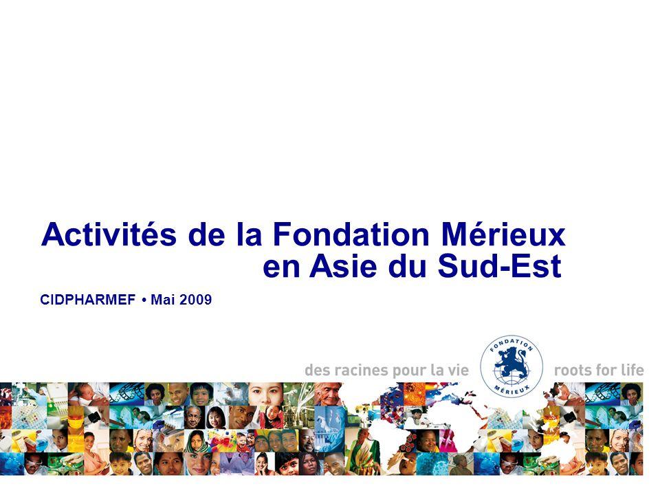 Activités de la Fondation Mérieux