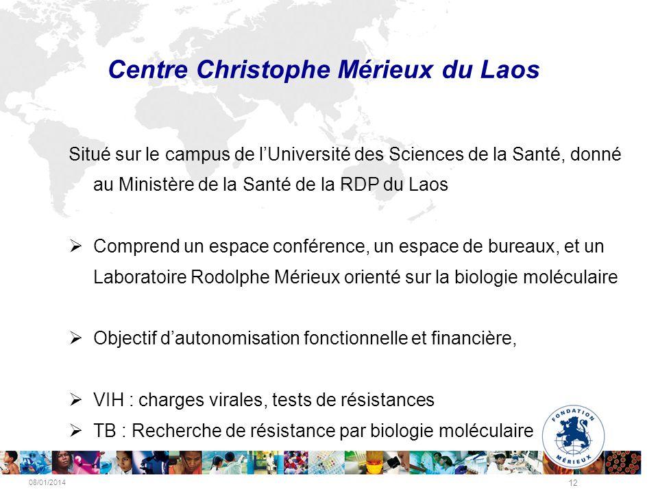 Centre Christophe Mérieux du Laos