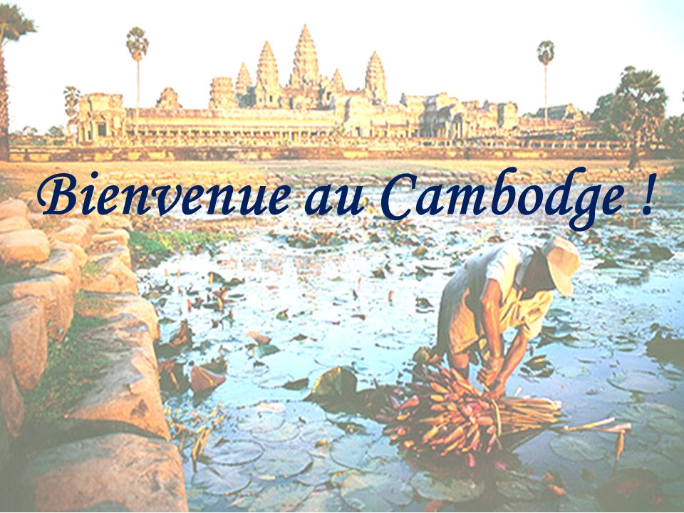 Bienvenue au Cambodge !