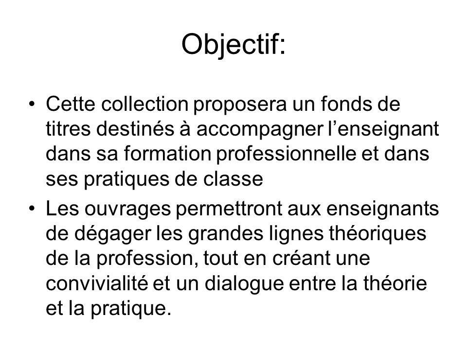 Objectif: