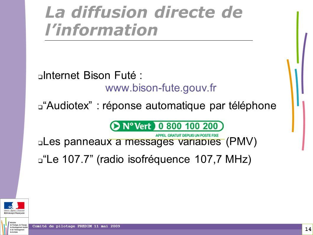 La diffusion directe de l'information