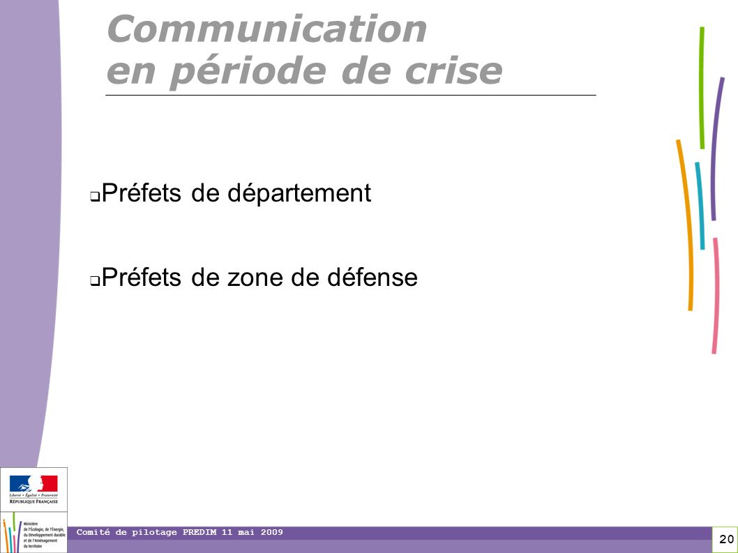 Communication en période de crise