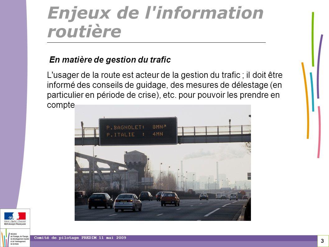 Enjeux de l information routière