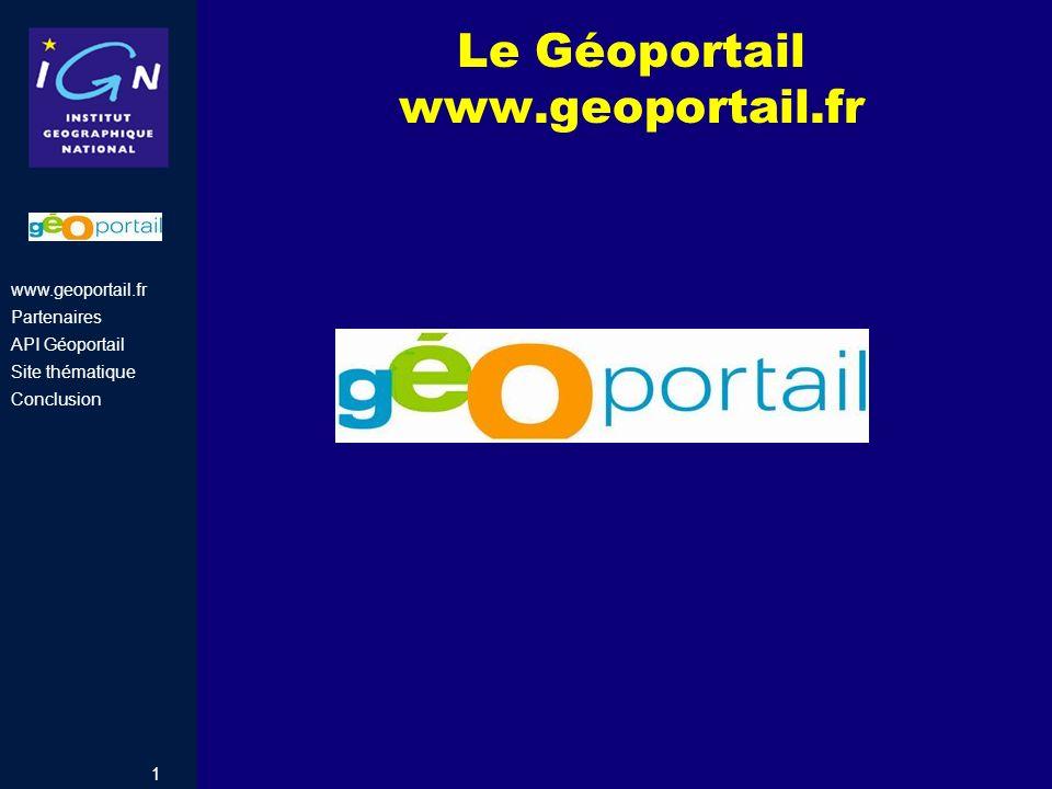 Le Géoportail www.geoportail.fr