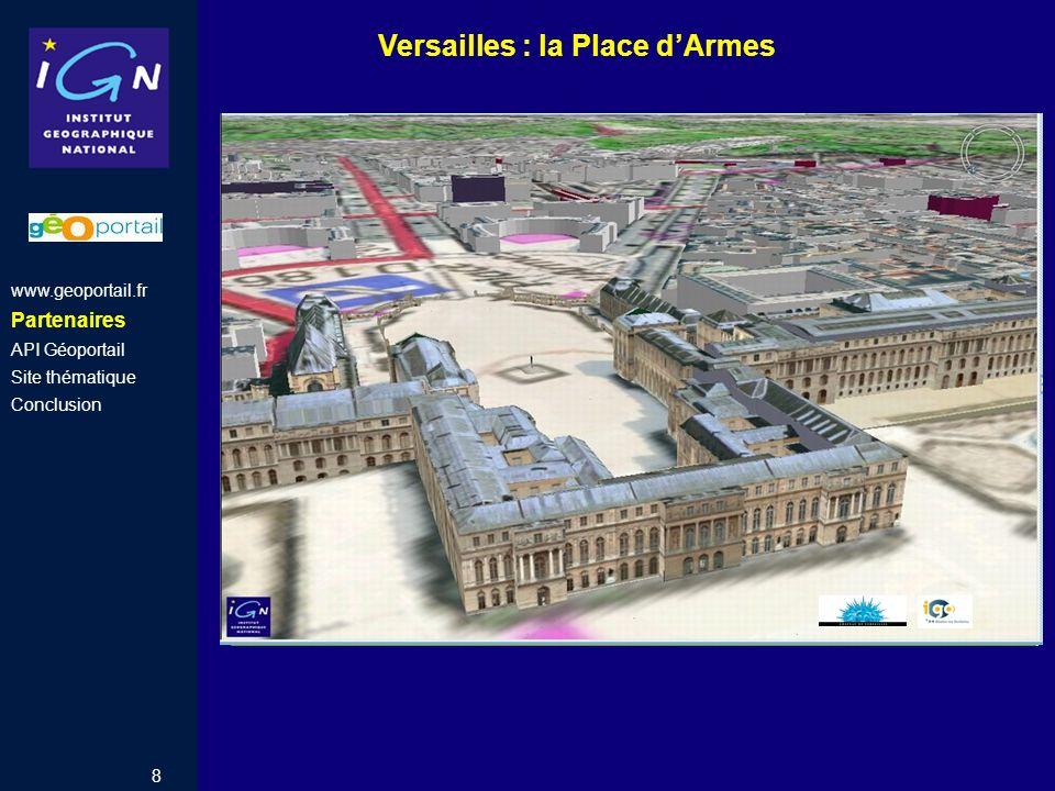 Versailles : la Place d'Armes
