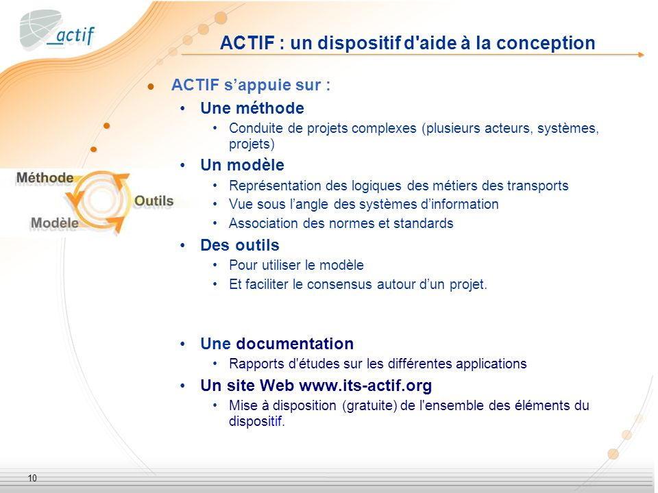ACTIF : un dispositif d aide à la conception