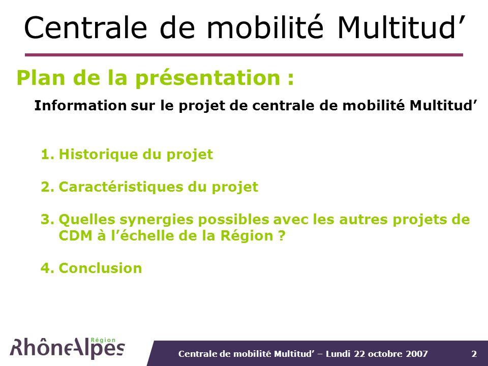 Centrale de mobilité Multitud'
