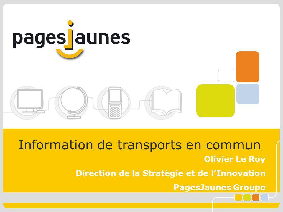 Information de transports en commun