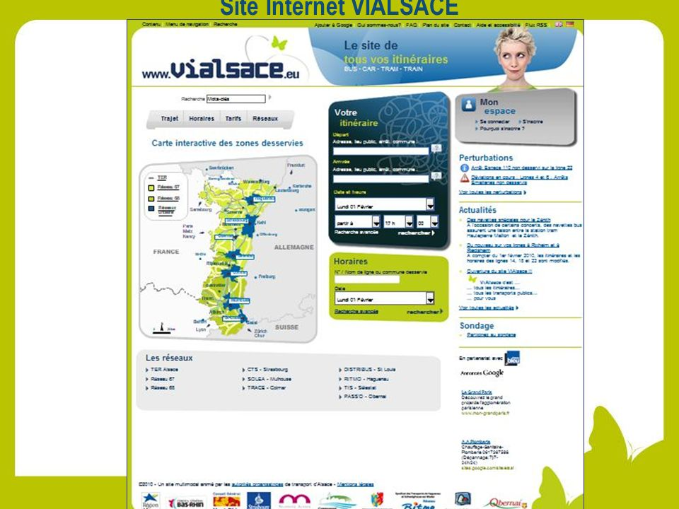 Site Internet VIALSACE