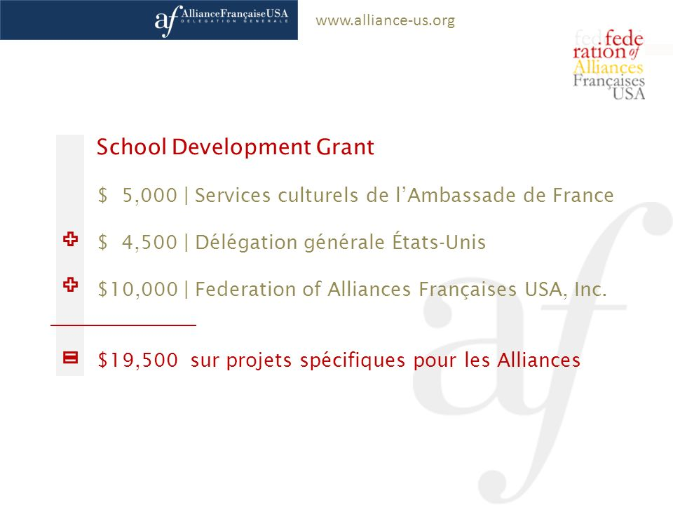 School Development Grant