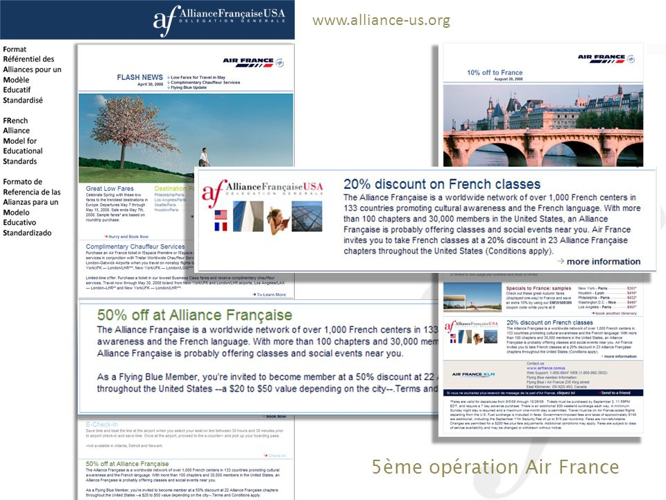5ème opération Air France